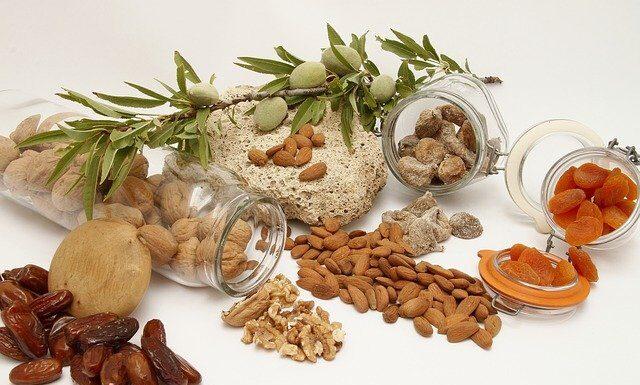 potas orzechy nasiona