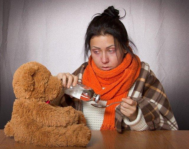 Objawy grypy i zapalenia płuc 1